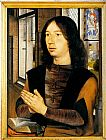 Hans Memling Canvas Paintings - Diptych Of Martin Van Nieuwenhove (pic 2)