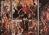 Hans Memling Last Judgment Triptych (open) painting