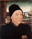 Hans Memling Portrait of an Old Man painting