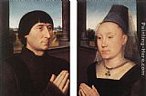 Hans Memling Portraits of Willem Moreel and His Wife painting