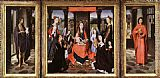 Hans Memling The Donne Triptych painting
