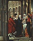 Hans Memling The Presentation in the Temple painting