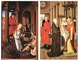 Hans Memling Wings of a Triptych painting