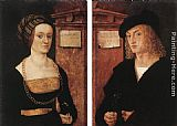 Hans the elder Burgkmair Barbara and Hans Schellenberger painting