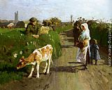 Harold Harvey - Near Penzance