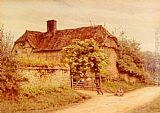 Helen Mary Elizabeth Allingham - A Berkshire Cottage