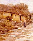 Helen Mary Elizabeth Allingham - Irish Cottage