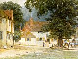 Famous Inn Paintings - White Horse Inn, Shere, Surrey