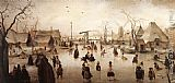 Hendrick Avercamp - Ice Scene