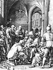 Hendrick Goltzius - Circumcision in the Church of St Bavo at Haarlem