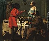 Hendrick Terbrugghen Jacob Reproaching Laban painting