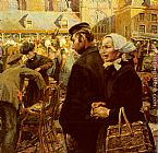 Hendrik Jan Wolter - Marketscene At Amersfoort
