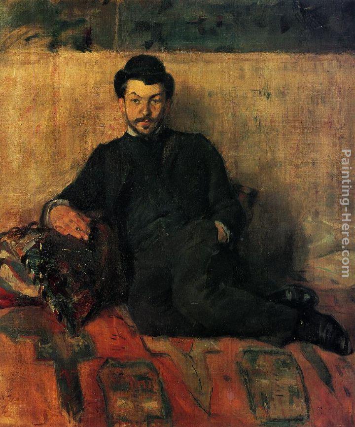 Henri de toulouse lautrec gustave lucien dennery painting for Toulouse lautrec works
