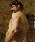 Nude Wall Art - Bust of a Nude Man