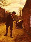 Henry Herbert La Thangue - Off To Work