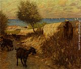 Henry Herbert La Thangue - Provencal Lane Martigues