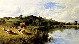 Henry Hillier Parker - The Thames At Streatley, Oxfordshire