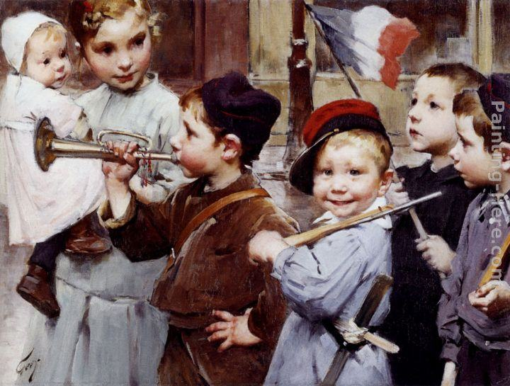 Henry Jules Jean Geoffroy July 14th - Bastille Day