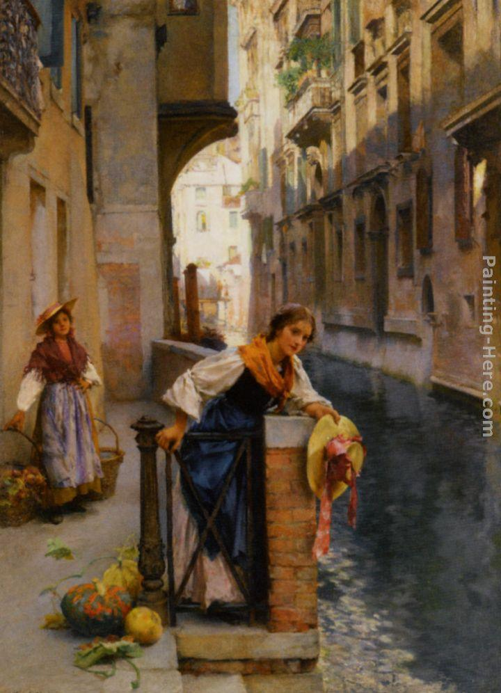 Henry Woods Fruit Sellers from the Islands Venice