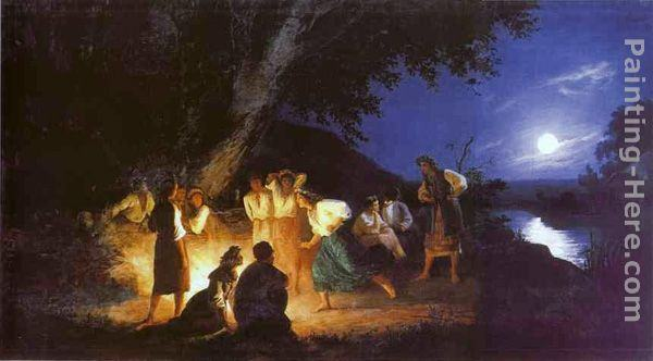 Henryk Hector Siemiradzki Night on the Eve of Ivan Kupala
