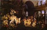 Henryk Hector Siemiradzki Roman Orgy in the Time of Caesars painting