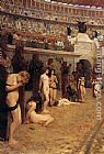 Herbert Gustave Schmalz Faithful Unto Death painting