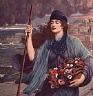 Girl Wall Art - Nydia Blind Girl of Pompeii