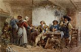 Interior Wall Art - A Merry Company in an Interior