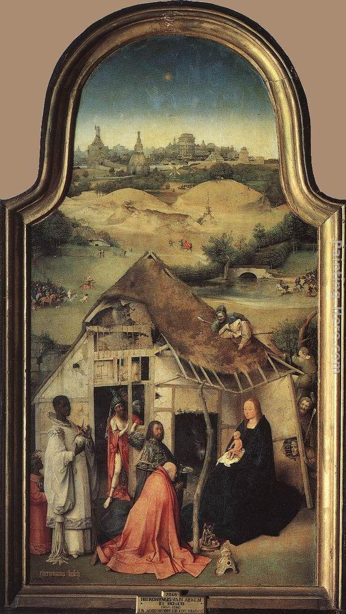 Hieronymus Bosch Adoration of the Magi