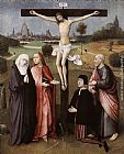 don Wall Art - Crucifixion with a Donor
