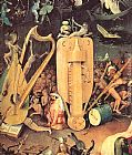 Hieronymus Bosch - Garden of Earthly Delights, detail of right wing