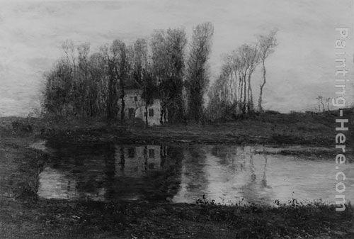 Homer Dodge Martin Old Manor of Criqueboeuf