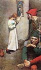 Howard Pyle Joan of Arc in Prison painting