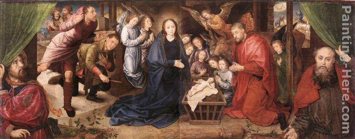 Hugo van der Goes Adoration of the Shepherds