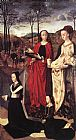 Mary Wall Art - Sts. Margaret and Mary Magdalene with Maria Portinari