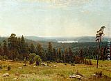 Ivan Shishkin - A Lakeside Forest