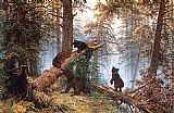 Ivan Shishkin - Morning in the Pine-tree Forest