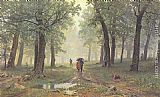 Ivan Shishkin - Rain in the Oak Grove