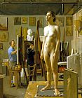 Jacob Collins - In the Atelier