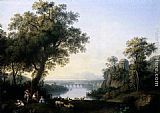 Jacob Philipp Hackert - Landscape with River