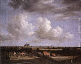 Jacob van Ruisdael - Landscape with a View of Haarlem