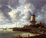 Jacob van Ruisdael - Mill at Wijk near Duursteede