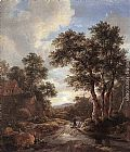 Jacob van Ruisdael - Sunrise in a Wood