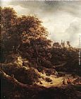 Jacob van Ruisdael - The Castle at Bentheim