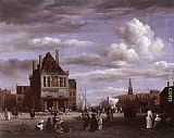 Jacob van Ruisdael - The Dam Square in Amsterdam