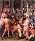 Jacopo Pontormo - Joseph Being Sold to Potiphar