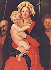 Jacopo Pontormo - Madonna and Child with St. Joseph and Saint John the Baptist