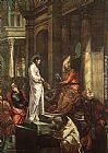 Jacopo Robusti Tintoretto - Christ before Pilate