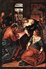 Jacopo Robusti Tintoretto - Christ in the house of Martha and Mary