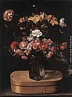 Jacques Linard - Bouquet on Wooden Box